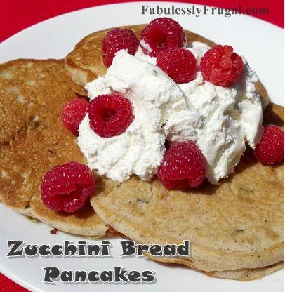 ... zucchini! Half White, Zucchini Pancakes Good, Zucchini Breads, Breads