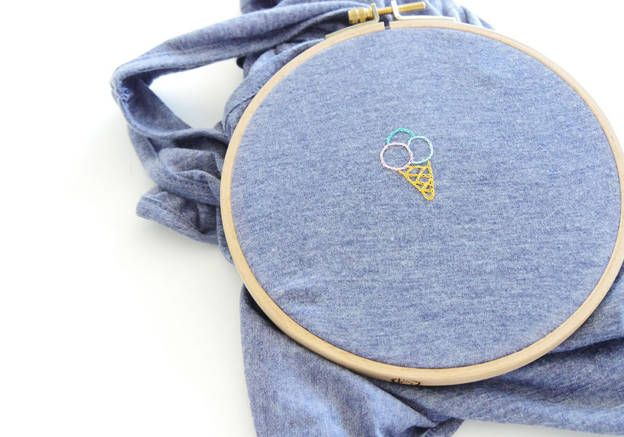 Tuto DIY broderie : comment broder un T-shirt ?