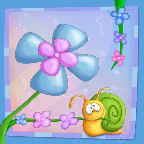 Варио, с днем рождения открытка улитка