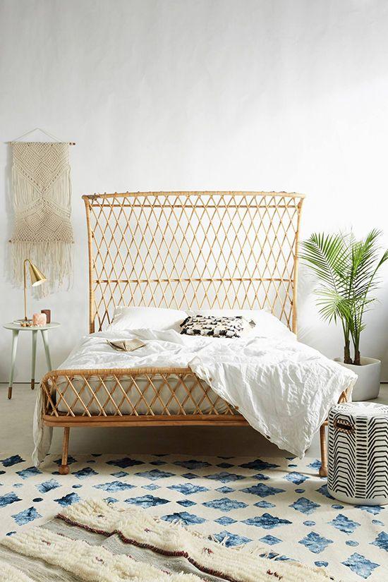 Was ein Bett! Viele Muster, perfekt zusammen gewürfelt. Wunderschön! Schlafzimmer Ideen Einrichtung