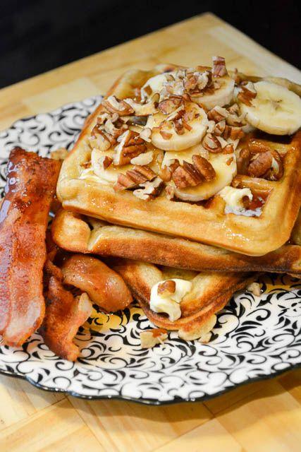 Best 25+ Banana waffles ideas on Pinterest | Waffle ...