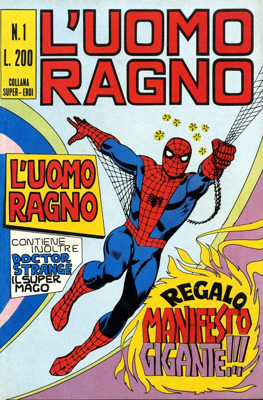L'Uomo Ragno n.1 - 1970 - #Spiderman