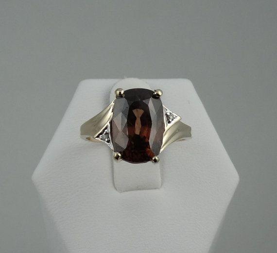 Brilliant 7.9 Carat Natural Honey Brown Zircon by rubylanejewelers
