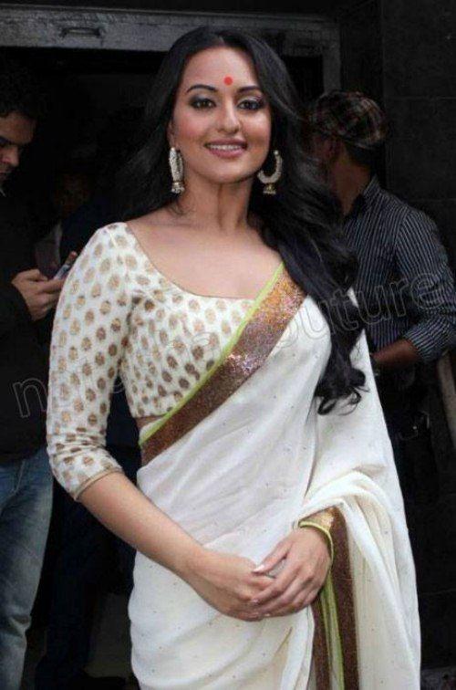 Sonakshi Sinha Blouse Designs