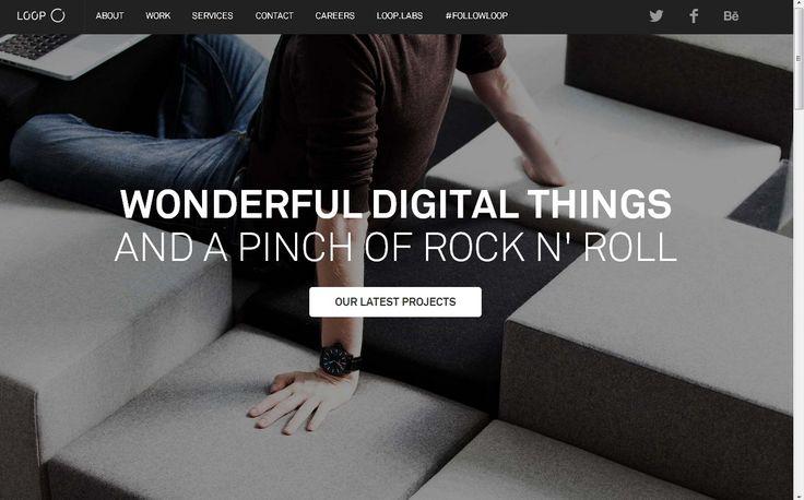 LOOP. Wonderful digital things.    (via http://www.agentur-loop.com/ )