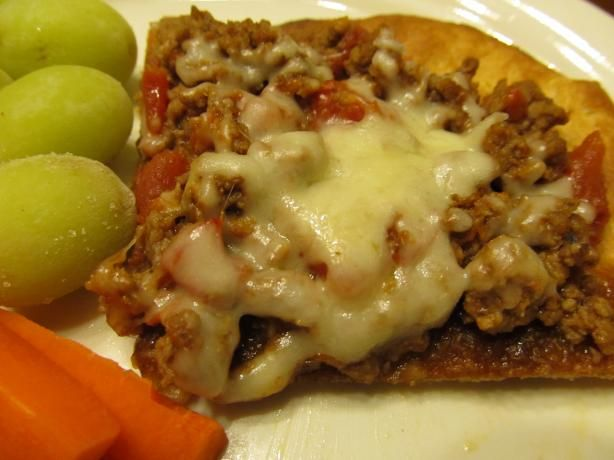 Weight Watcher's Deep-Dish Pizza Casserole. Photo by Buzymomof3