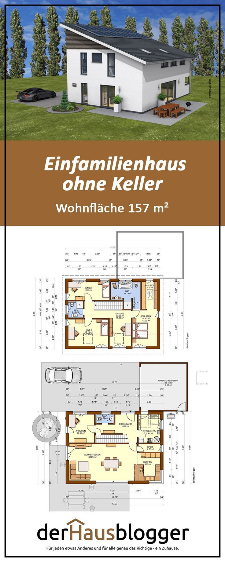 Das Erbauerpaar dieses 157 m² großen Penthouse-Daches kam mit dem Zen-Wunsch …