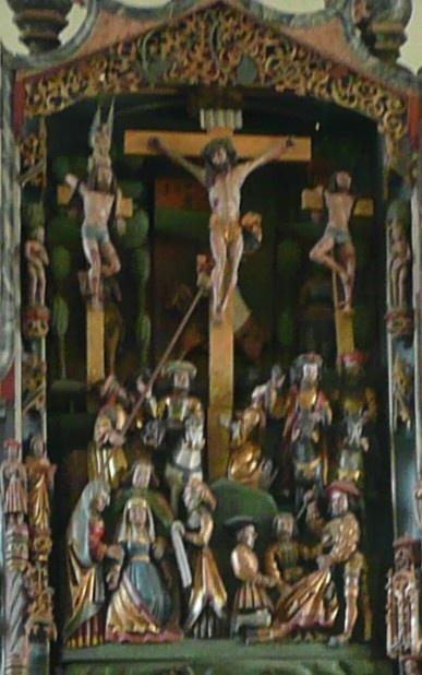 Altar Welver-Schwefe - Kreuzigung Jesu