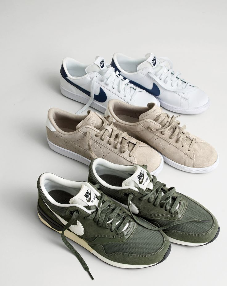 J.Crew In Good Company: Nike®. Classic kicks in brand-new colors from the company that single-handedly created the sneakerhead.