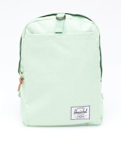 mint green herschel supply co backpack.