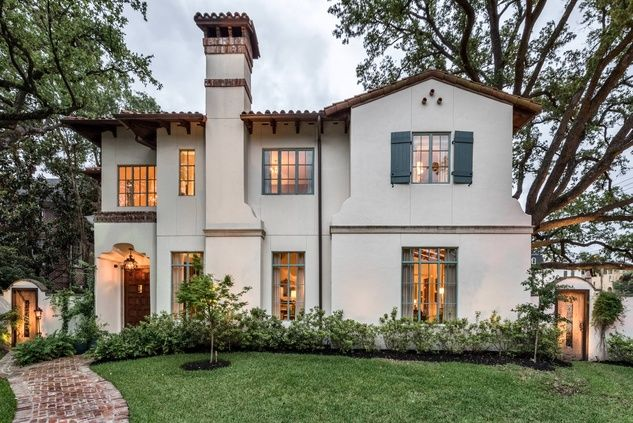 "Mirador Builders created this ""Santa Barbara meets River Oaks"" home at 1915 Kirby. Photo by Martha Turner Sotheby's International Realty, Inc."