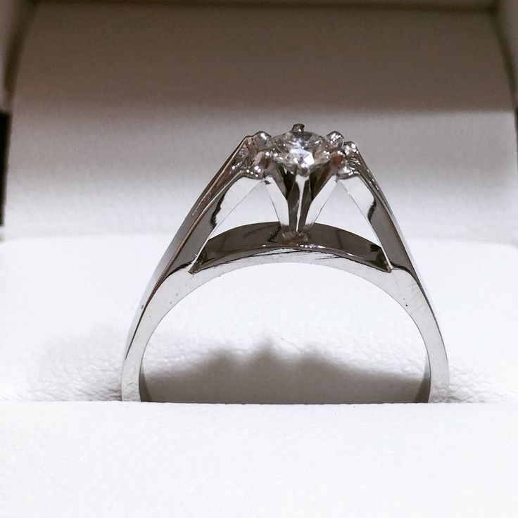 Remodelled to look like a remembered engagement ring