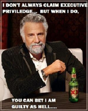I don't always claim executive privilege, but when I do...    #fastandfurious #obama