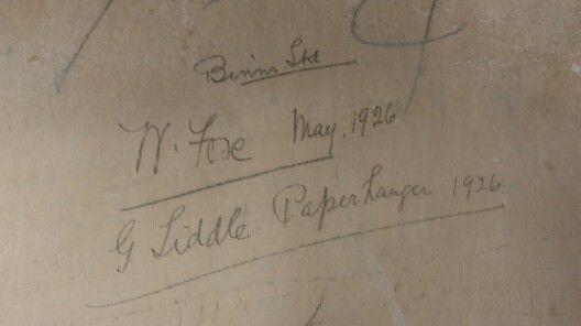 Decorators signatures from 1926