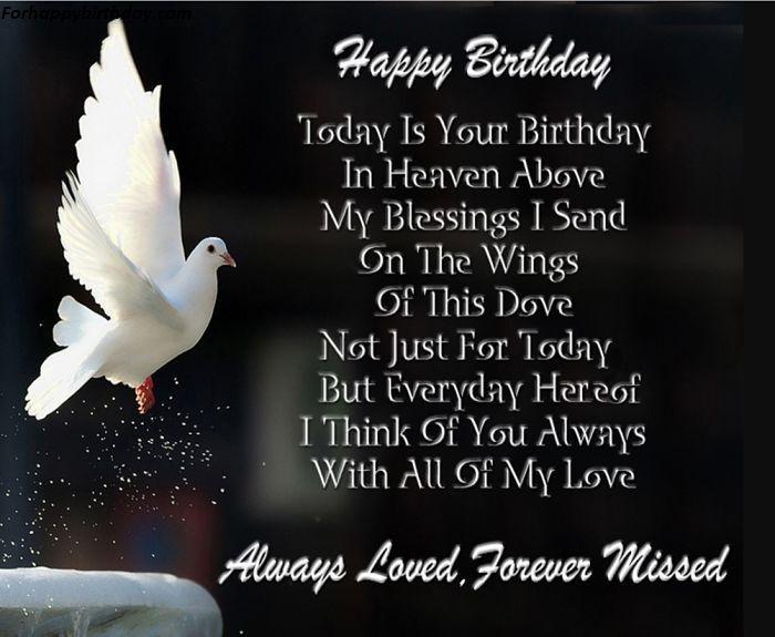 Happy Quotes Heaven Father Birthday