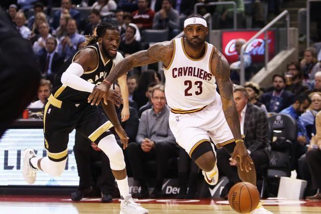 Toronto Raptors vs. Cleveland Cavaliers: Live Score, Analysis for Game 1