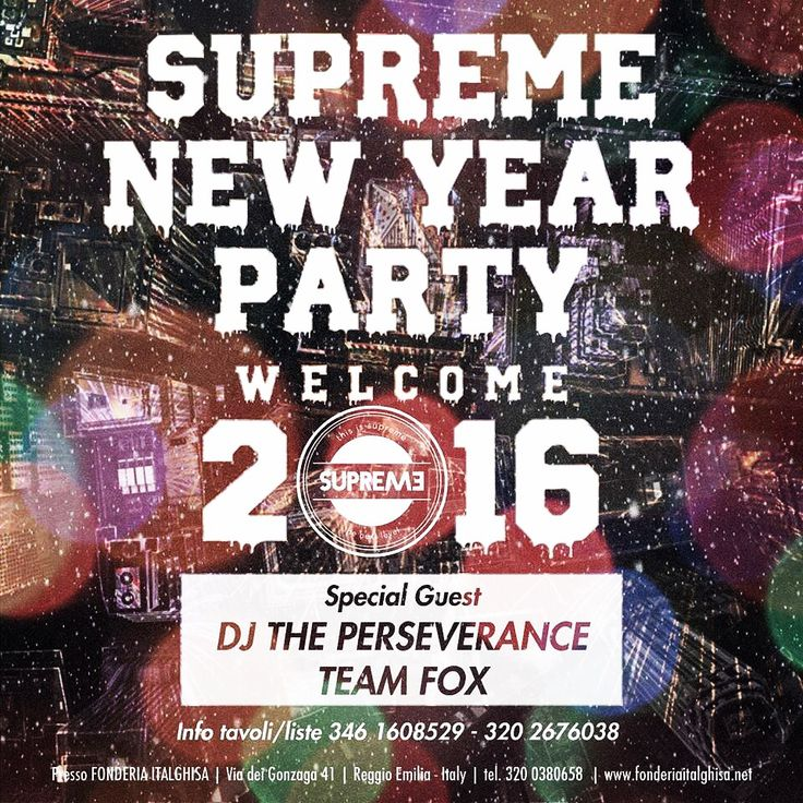 #happynewyear #happynewyear2016 #supremenewyear #welkome2016 #hiphop #hiphoplife #hiphopdance #hiphopstyle #hiphopculture #hiphopmusic #hiphopbeats #supremestaff #supremegirls #dimitrimazzoni