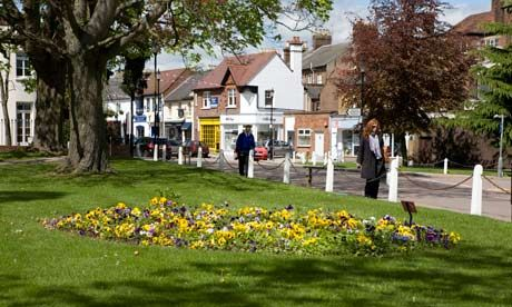 Harpenden in Hertforshire...a place I once called home