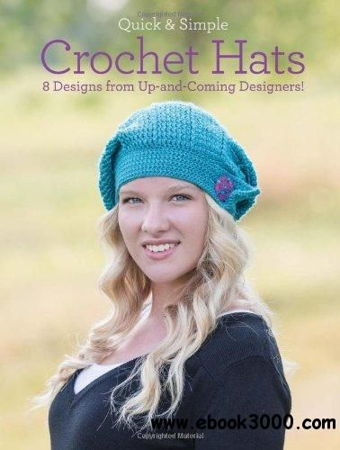 17 best crochet books images on pinterest crochet books crochet quick and simple crochet hats 8 designs from up and coming designers fandeluxe Images