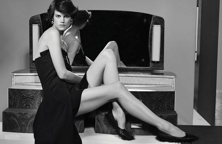 SS 2015 Cover Story, model Saskia de Brauw