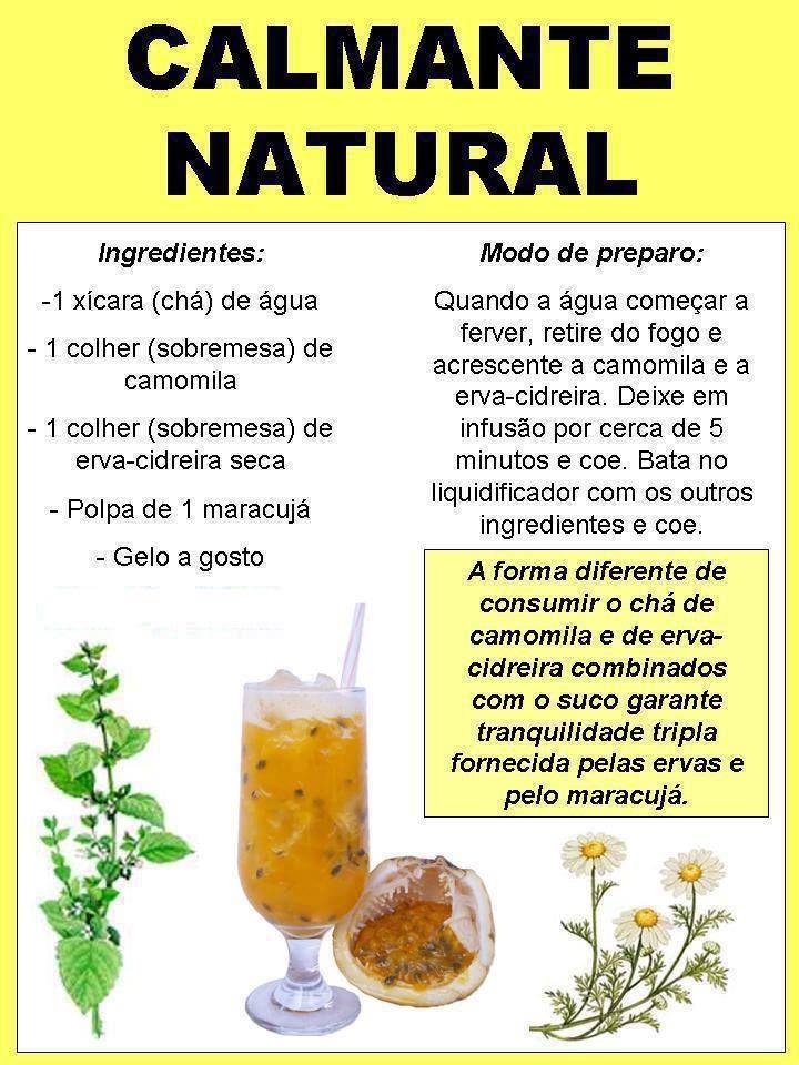 Conhecia este #calmante #natural? Saiba como fazer mais coisas em http://www.comofazer.org