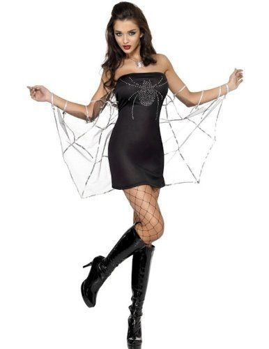 Sexy Black Widow Spider Costume for Women - Woman's Superhero Costumes