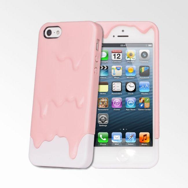 Tweedelig melt hoesje voor de iPhone 5. -