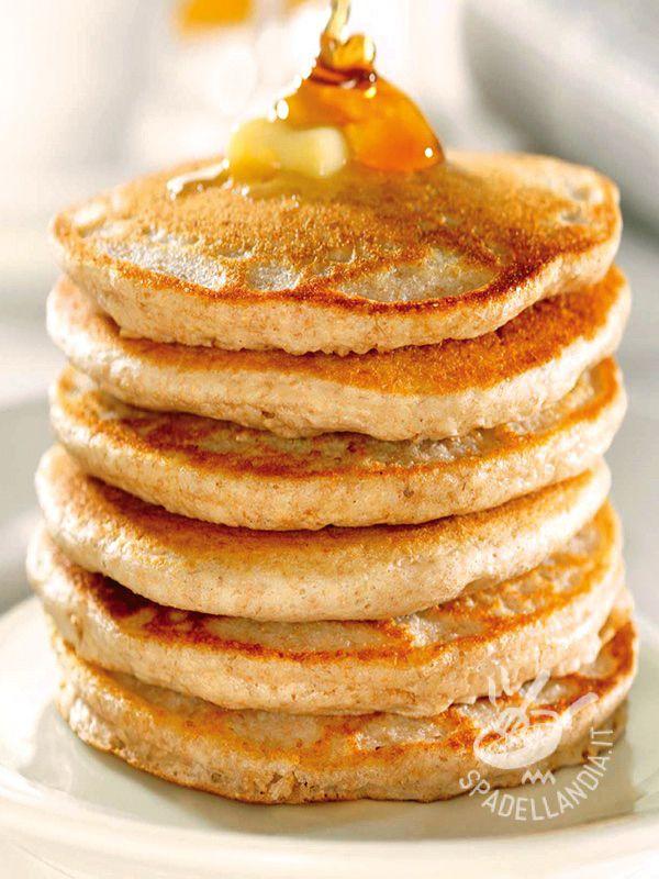 Dough Pancakes - L'Impasto per Pancakes vi sarà indispensabile per preparare le frittelle tradizionali americane, simili a spesse crepes, preparate per il brunch.