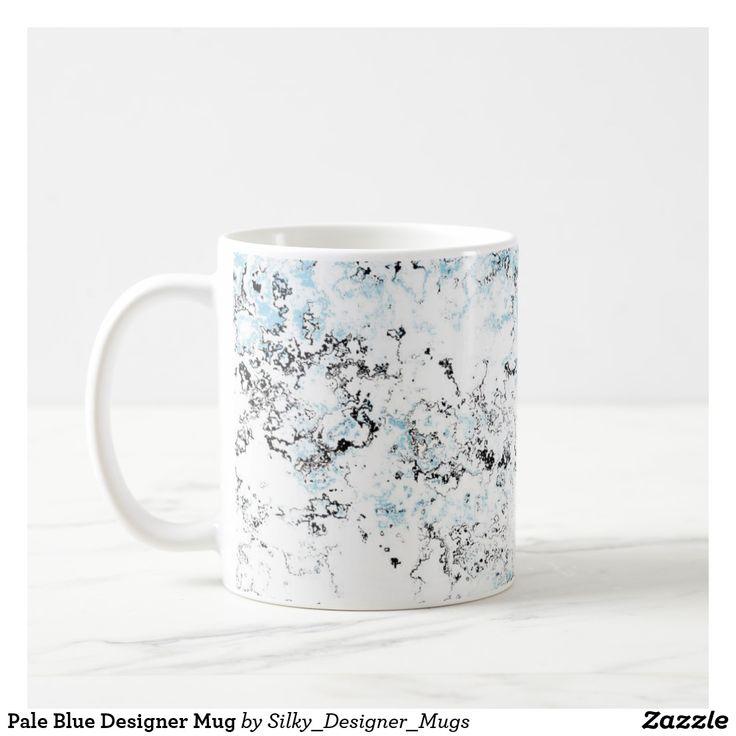 Pale Blue Designer Mug