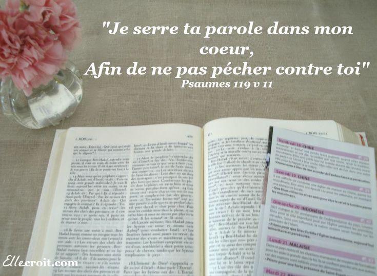 parole psaumes 119 v 11 ellecroit.com