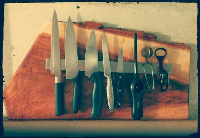Поделки и проделки: Держатель для ножей
