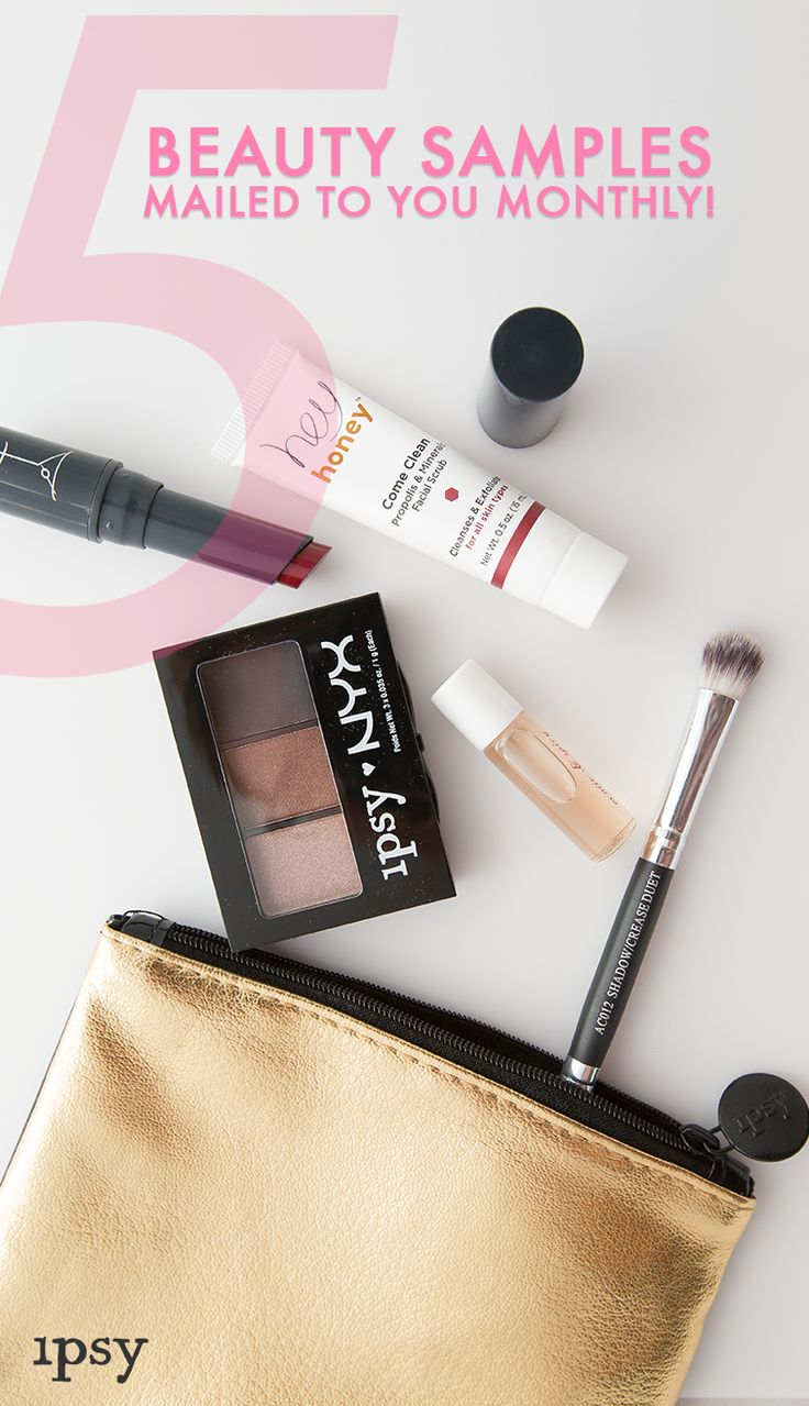 Feel glam on the go with ipsy! Sign up today and receive 4-5 personalized beauty products each month. Join over 1.5M subscribers to get access to exclusive offers up to 70% off, giveaways, and more. Sign up today and start getting glam!