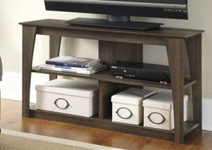 TV Stand   The Signature Design By Ashley Frantin 42 In. TV Stand  Successfully Blends Classic And Contemporary Styles While Offering You  Plenty Of Storage ...