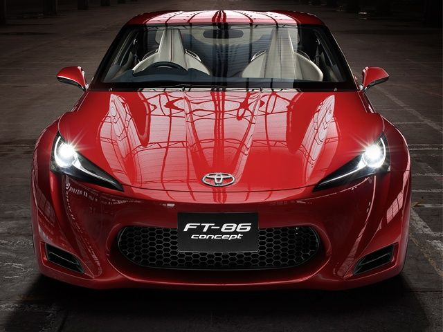 Toyota FT86 Concept: In Pictures!