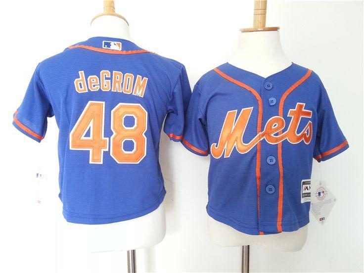 Infant MLB New York Mets #48 Jacob deGrom Jerseys