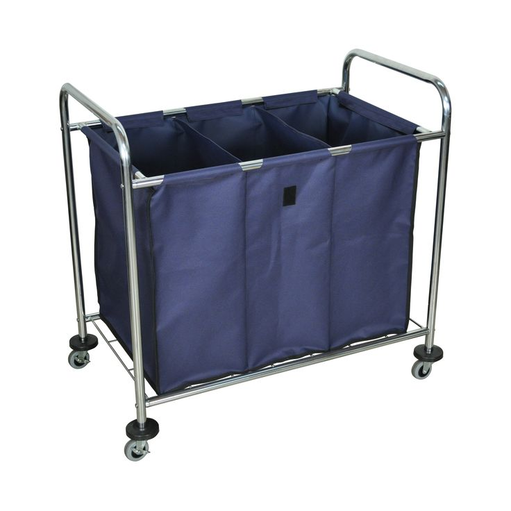 Luxor Industrial Laundry Cart - HL15