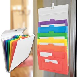 This would be great to place papers you need for parent/principal/teacher conferences.  A file to go!