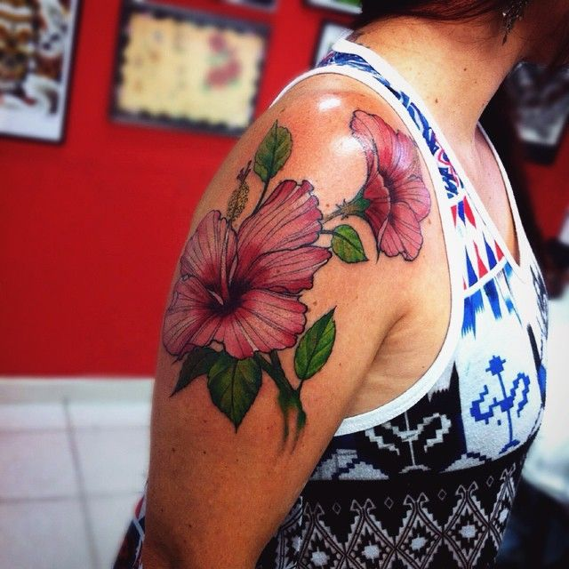 50 Gorgeous Hibiscus Flower Tattoo Meaning and Designs - Organic and Natural