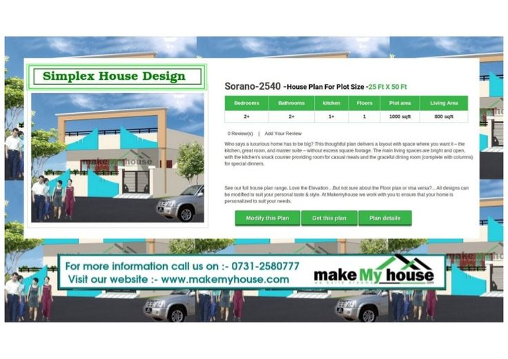 Simple Home Design By Make My House