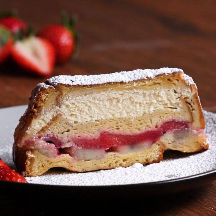 Stuffed French Toast Loaf