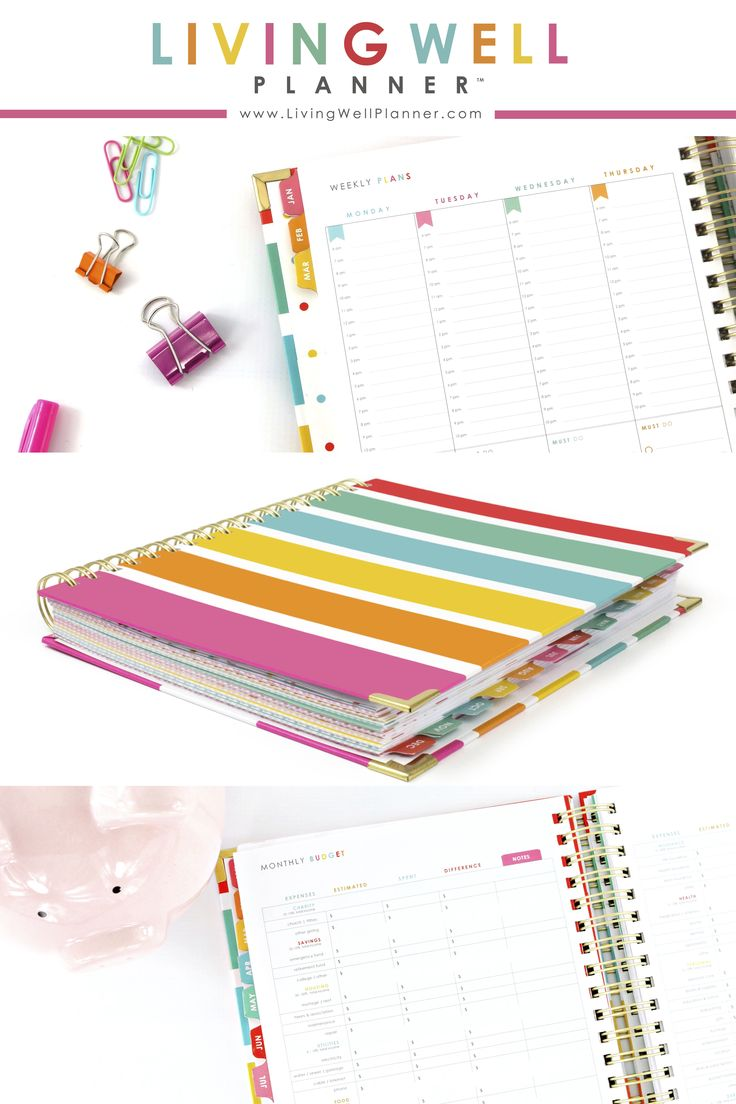 best images about the living well planner goal it s thoughtfully designed color coded pages the living well planner will inspire
