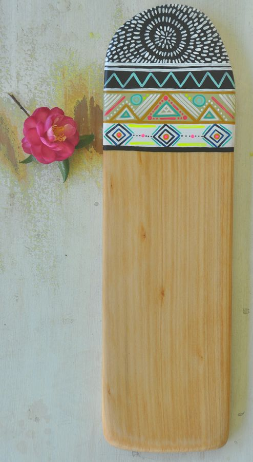 'Breathes Salty' | handcrafted reclaimed Norfolk Pine serving board
