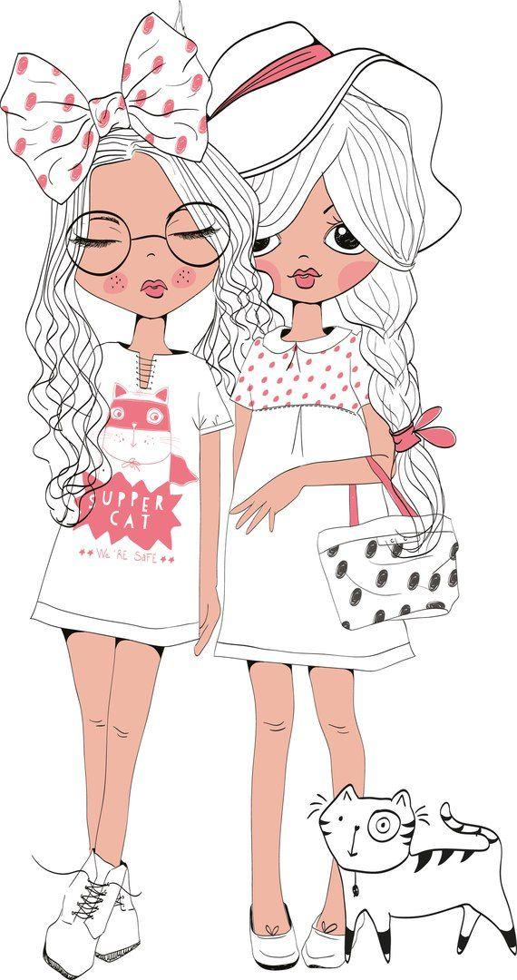 fashion, girls