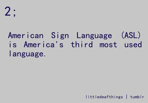 ASL is still not considered a foreign language in some states- this is something I would definitely talk about in my class. maybe have students write a paper about it and their opinion. also to go along with this, talk about Deaf culture and customs!