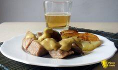 Spezzatino di maiale alla birra (ricetta economica). Ricetta dello spezzatino di maiale (arista lonza filetto o prosciutto) in bianco in umido con la birra