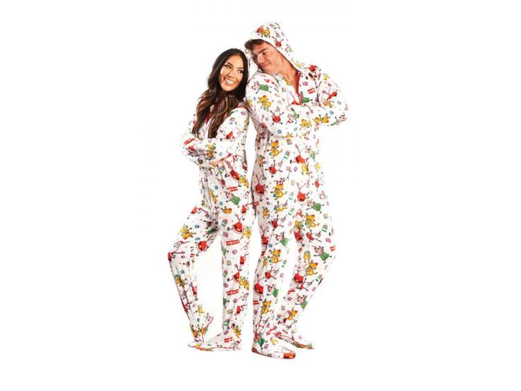 23 best Christmas Footed Pajamas for Adults images on ...