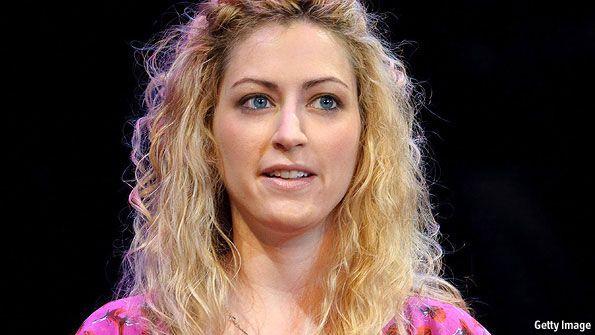 Jane McGonigal, une game designeuse américaine.
