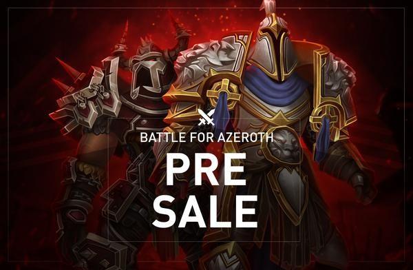 Battle For Azeroth Pre Sale The Professional