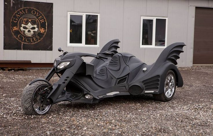 This custom Batcycle is the coolest thing in the Batcave