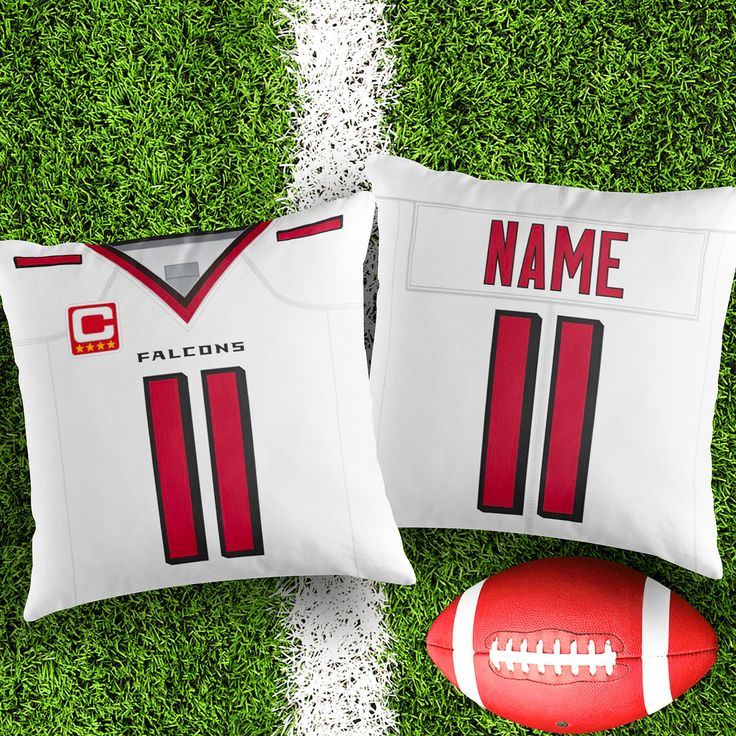 Personalised Atlanta Falcons decorative Cushion Cover Fan inspired product Gift for boyfriend american football